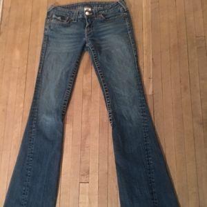 True Religion Joey Jeans Flare